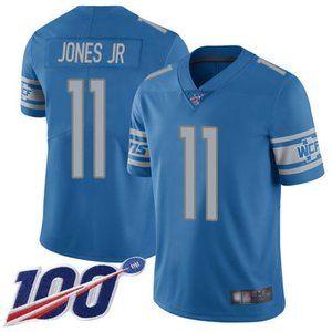 Detroit Lions Marvin Jones Jr 100th Season Jersey